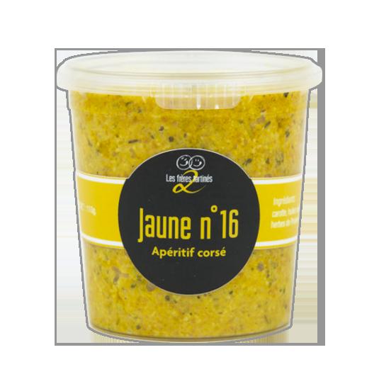 Carotte provencale - jaune n°16