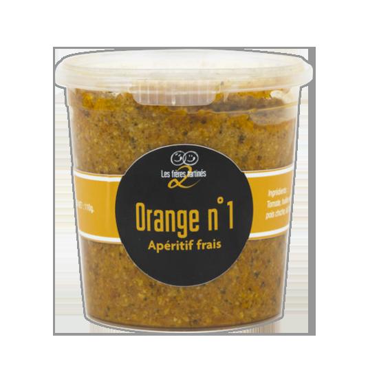 Tomate basilic - orange n°1