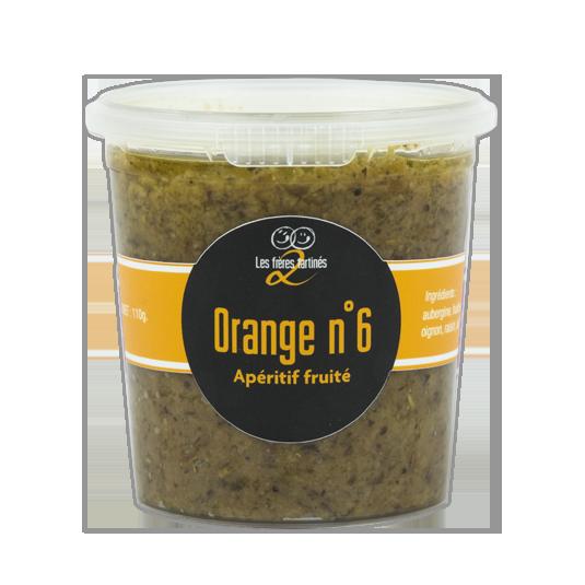 Saveur du sud - orange n°6